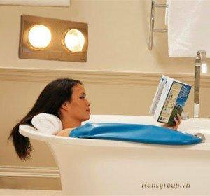 Đèn sưởi nhà tắm cho mùa đông không còn lạnh