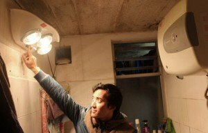 Tự lắp đặt đèn sưởi nhà tắm tại nhà